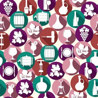 Patrón de accesorios de vino