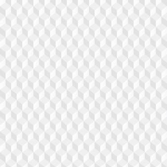 Patrón de cubos blancos