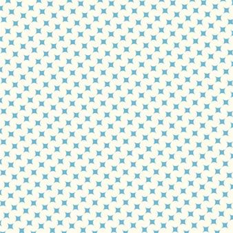 Patrón de estrellas azules