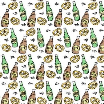 Patrón de la cerveza