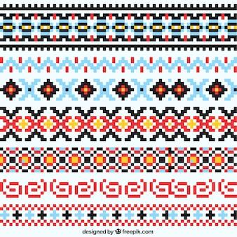Patrón de lana de navidad