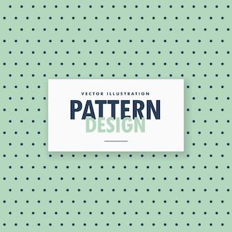 Patrón de puntos negros sobre un fondo verde