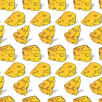 Patrón de queso delicioso