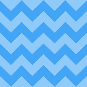 Patrón de rayas zig zag azules