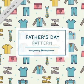 Patrón de ropa de padre