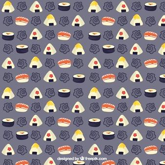 Patrón de sushi