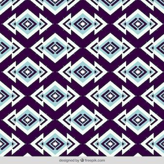 Patrón decorativo geométrico abstracto