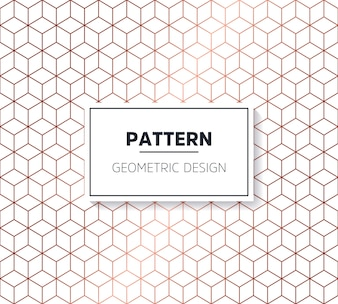 Patrón decorativo hexagonal
