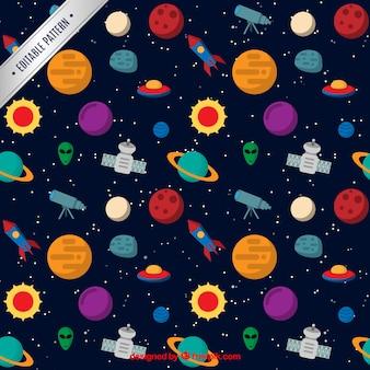 Patrón del espacio