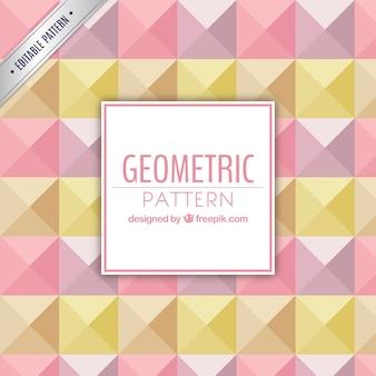 Patrón geométrico colodido