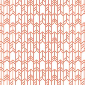 Patrón geométrico con líneas en zig zag