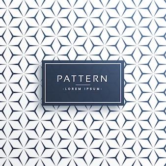Patrón geométrico decorativo