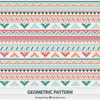 Patrón geométrico en estilo nativo