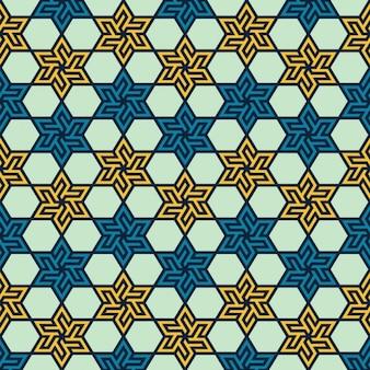 Patrón geométrico islámico