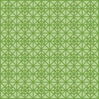 Patrón verde sin fin islámico