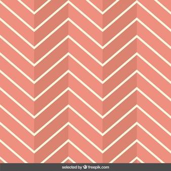 Patrón zigzag coral