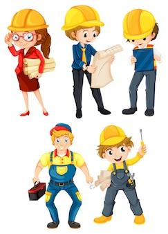 Personas trabajadoras