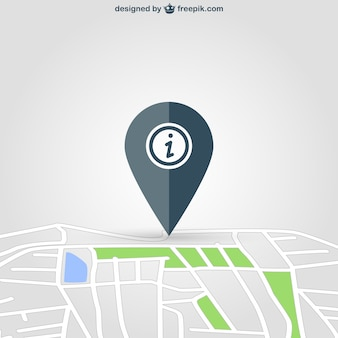 Pin de localización en mapa