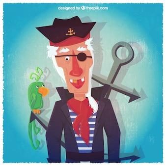 Pirata ilustración