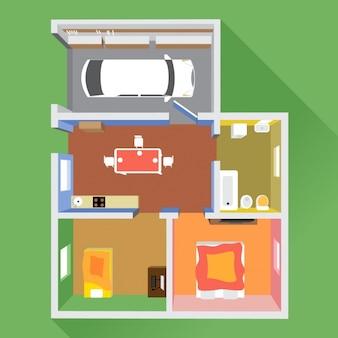 Planos de una casa