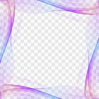 Plantilla abstracta moderna de marco
