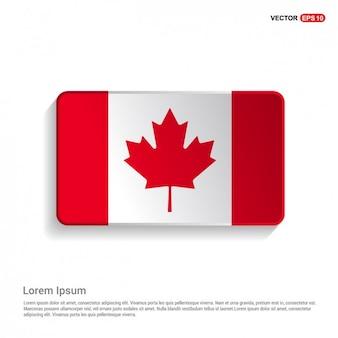 Plantilla bandera canadiense