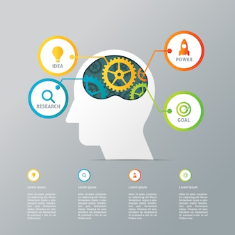 Plantilla Creativa de Infografía Empresarial
