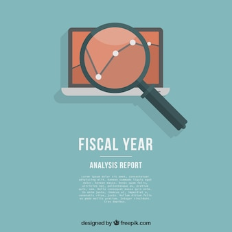 Plantilla de año fiscal