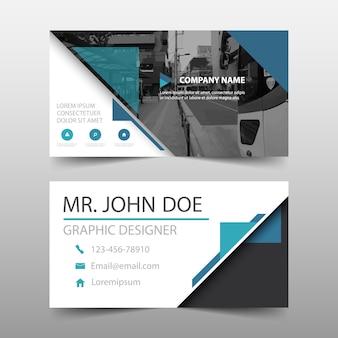 Plantilla de diseño de tarjeta de visita