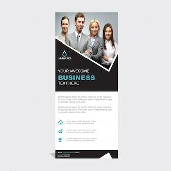 Plantilla de enrollar de negocios