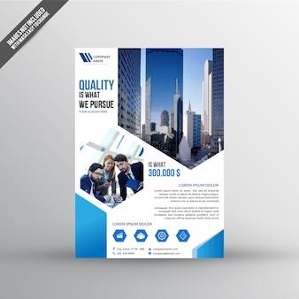 Plantilla de folleto de bienes raíces