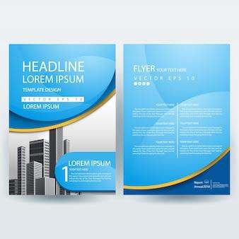Plantilla de folleto empresarial