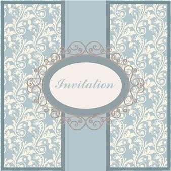 Plantilla de invitación decorativa