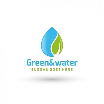 Plantilla de logo  de compañía de energía ecológica