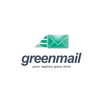 Plantilla de logo de correo
