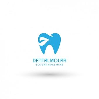 Plantilla de logo de dentista