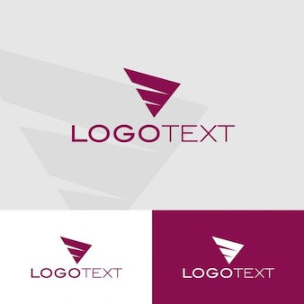 Plantilla de logo de vuelo