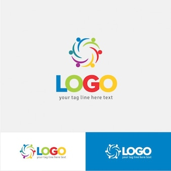 Plantilla de logo para ONG