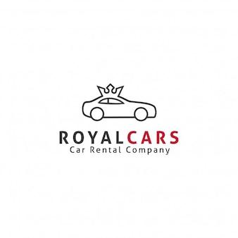Plantilla de logotipo de coches reales
