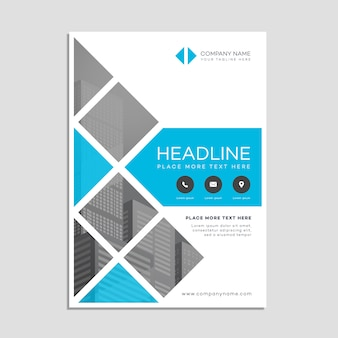 Plantilla de póster de negocios