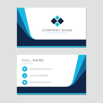 Plantilla de tarjeta de presentación