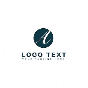 Plantilla dl logotipo de fotografía de la letra a