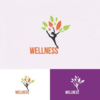 Plantilla Logotipo de bienestar