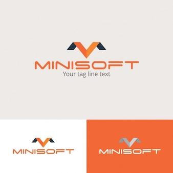 Plantilla Logotipo Minisoft