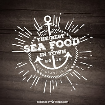 Plantilla para restaurante de pescado