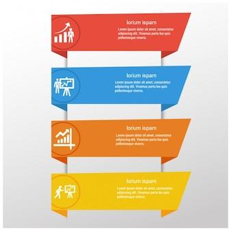 Plantillas de banners infográficos
