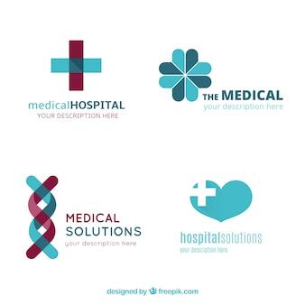 Plantillas de logo de hospitales