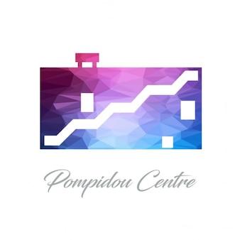Pompidou , poligonal