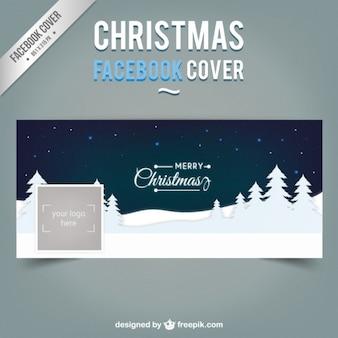 Portada de Facebook de noche de navidad