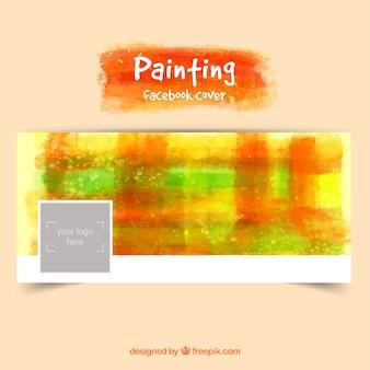 Portada de facebook pintada a mano